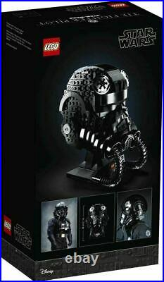 Lego Star Wars Tie Fighter Pilot Helmet Collectible Model Kit New! (75274)