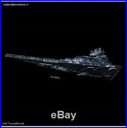 Limited Ver. 2019 Star Destroyer 1/5000 Scale with LED Star Wars Plastic Model