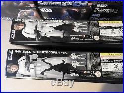 Luke Skywalker & Han Solo in Stormtrooper Armour BANDAI 1/12 Model Kit STAR WARS