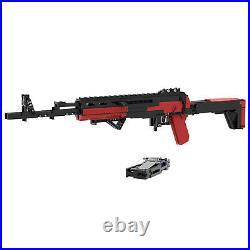 MOC AK47 Rifle Model Building Kit Kids Blaster Shootable Model Building Toys
