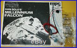 MPC Star Wars Han Solos Millennium Falcon 178 scale model kit 1-1925. Airfix