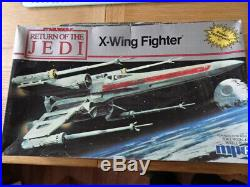 MPC Star Wars'Return of the Jedi' X-wing Fighter Scale Model Kit by MPC