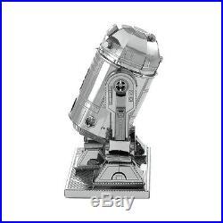 Metal Earth Star Wars MEGA R2D2 Droid 3D Laser Cut Metal