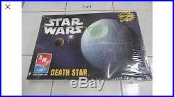 Model Kit STAR WARS DEATH STAR 2005 New in Shrinkwrap! AMT/ERTL Rare