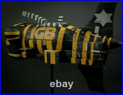 Model kit spaceship (alien, Dune, star wars inspired) Chris foss inspired artwork