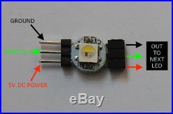 Model ship lighting WiFi control RGBW LED for any scale kit Star Trek / Wars etc