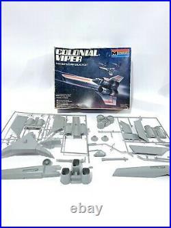 Monogram Battlestar Galactica Colonial Viper AND Cylon Raider Vintage Model Kit