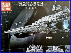 Mould King 11885 Piece Star Wars Monarch Imperial Star Destroyer Model Kit 13135