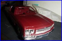 Mpc #1 1975 Chevrolet Caprice Dark Met Red Promo 1/25 Model Car Mountain