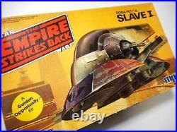 Mpc Boba Fett's SLAVE 1 Model Kit Star Wars Empire Strikes Back 1982