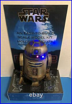 Mpc R2-d2 Artoo-detoo Model Kit Store Display Base Only