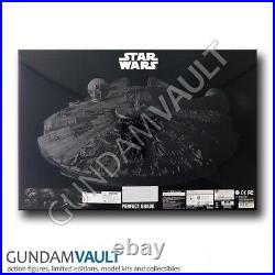 NEW 1/72 PG Perfect Grade Millennium Falcon Star Wars A New Hope Model Kit Band