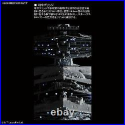 NEW Bandai Star Wars Star Destroyer 1/5000 Scale Plastic Model Kit First Edition