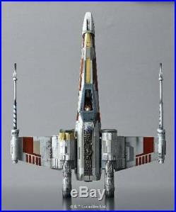 NEW Star Wars Model Kit X-Wing Starfighter 1/48 Moving Edition Bandai Japan F/S