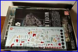 New BANDAI Star Wars Millennium Falcon 1/144 Scale Model Kit The Force Awakens