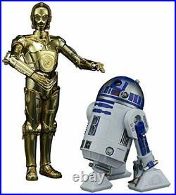 New Bandai Star Wars The Last Jedi C-3PO & R2-D2 1/12 scale Plastic Model