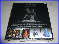 New In Box Star Wars Artfx Senate Guard 1/7 Scale Kotobukiya Model Kit Statue