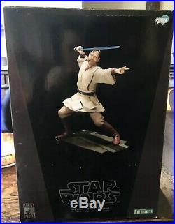 New Kotobukiya Star Wars Obi Wan Kenobi Ep3 1/ 7 Scale Pre-painted Model Kit