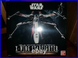New Sealed Bandai (Moving Edition) i1/48 Star Wars X-Wing Starfighter Model Kit
