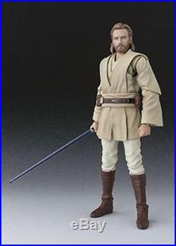 New Star Wars Attack Of The Clones Obi-wan Kenobi Sh Figuarts Plastic Model Kit