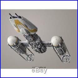 New Star Wars Y-wing starfighter 1/72 scale plastic model F/S from Japan