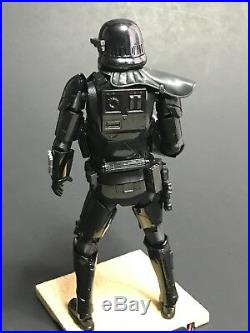 PRO BUILT 1/12 Death Trooper with LIGHTING Model Figure Bandai Star Wars