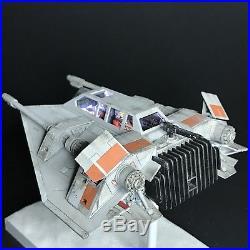PRO BUILT 1/48 Scale Rebel Snowspeeder With FULL LIGHTING Prop Replica Star Wars