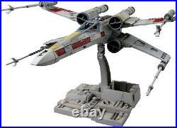 PRO BUILT 1/72 X-Wing Star Fighter Star Wars Multi 8 Model Kit Bandai Hobby