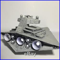 PRO BUILT HUGE Imperial Star Destroyer WithFULL LIGHTING Prop Replica Star Wars