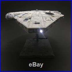 PRO BUILT Landos Millennium Falcon With FULL LIGHTING Prop Replica Solo Star Wars