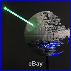 PRO BUILT Mini 1/270 Mil Scale DEATH STAR II 2 WithLIGHTING Prop Replica Star Wars