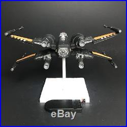PRO BUILT Poes X Wing Fighter Prop Replica With FULL LIGHTING