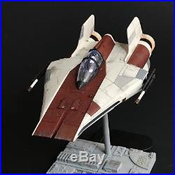 PRO BUILT Rebel RZ-1 A-Wing Fighter with FULL LIGHTING Prop Replica Star Wars