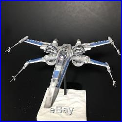 PRO BUILT Resistance T-70 X-Wing Fighter withFULL LIGHTING Prop Replica Star Wars