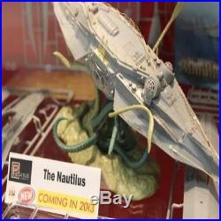 Pegasus 1/144 The Nautilus Plastic Model Kit 9120 Jules Verne Inspired Kit 14
