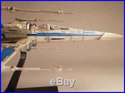 Pro Painted Built T-70 Resistance X-wing Bandai 1/72