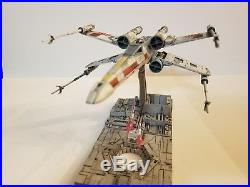 Pro built 1/72 scale Bandai Star Wars T-65 X-wing Starfighter pre order