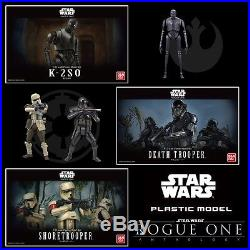 ROGUE ONE A STAR WARS STORY 1/12 Model kit set DEATH & SHORE & K-2SO