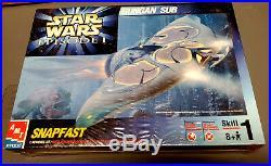 Rare GUNGAN SUB Bongo Model Kit Star Wars Episode I Phantom Menace NIB