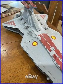 Rare Revell Star Wars Republic Star Destroyer 2017 Plastic Model Kit Used 1/2700
