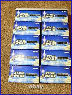 Rare Star Wars Japanese Tomy Diorama Toy Model Kits. 10Pack, Unopened