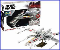 Revell 06890 Star Wars X-Wing Fighter Plastic 129 Scale Model Kit