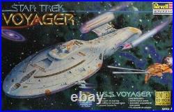 Revell Monogram 1677 Star Trek Voyager USS Voyager Plastic Model Kit #3612