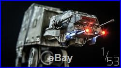 Revell Star Wars 1/53 AT-AT Custom Painted & Built Scale Model with LED Lighting