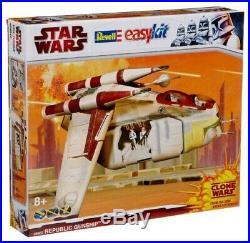 Revell Star Wars Clone War Republic Gunship 06667 1/70 1/72 Scale Model Kit