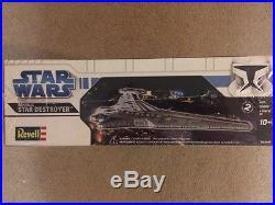 Revell Star Wars Republic Star Destroyer Plastic Model Kit Item # 85-6445 F/s