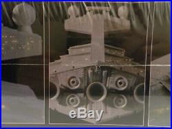 Revell Star Wars Star Destroyer With Fiber Optic Lighting System New Sealed 8782