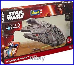 Revell model kit Star Wars Millennium Falcon in 172 scale Level 2 spaceship New