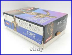SCREAMIN KAIYODO STAR WARS C-3PO 1/6 scale Figure Model Kit 1993 MIB