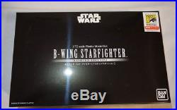 SDCC 2018 Bluefin Exclusive Bandai Star Wars B-Wing Starfighter 1/72 Model Kit